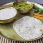 Dal Fry with Chapati
